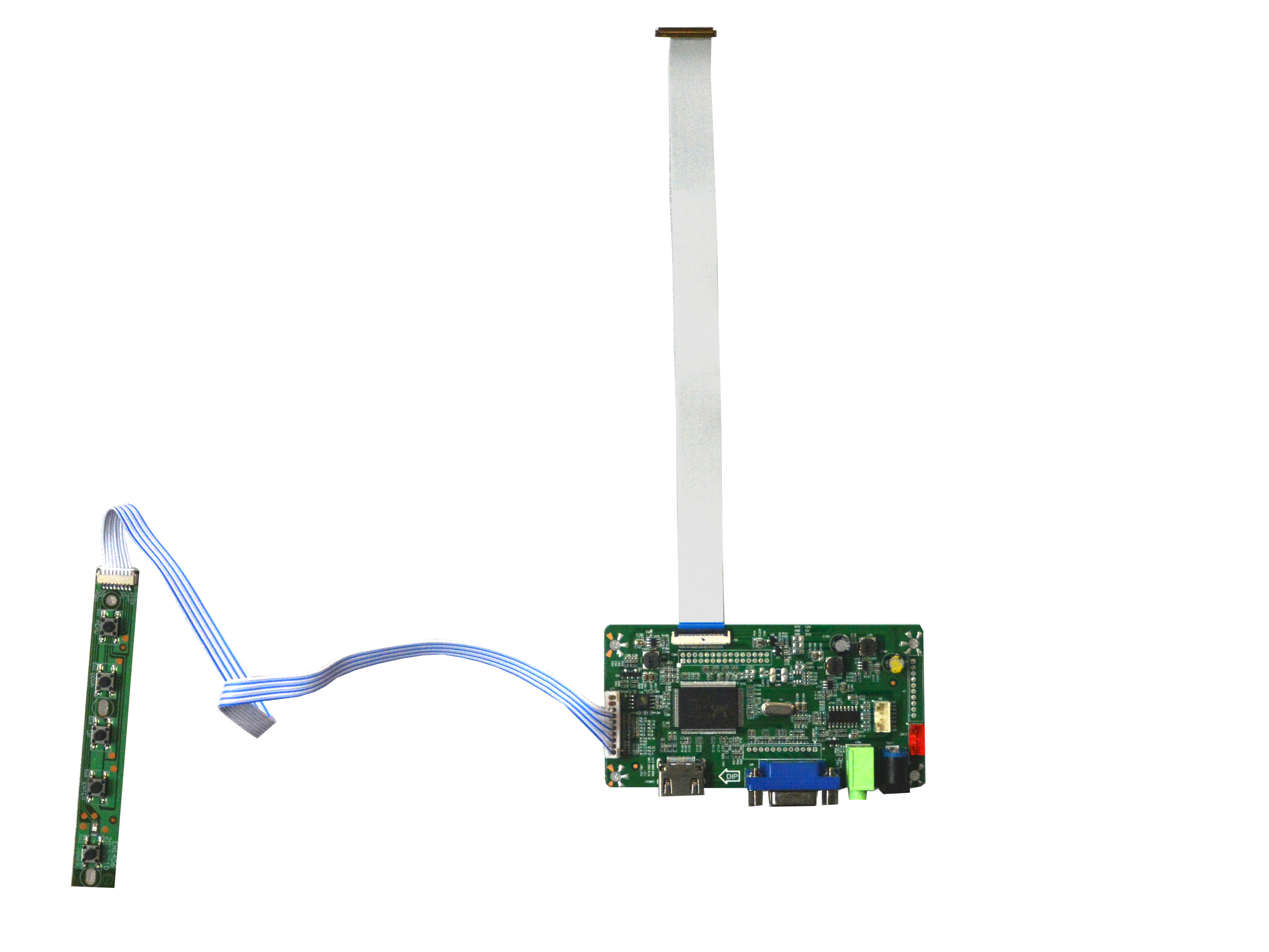 NJYTouch VGA HDMI eDP LCD Controller Board for 14  B140XTN02.B 1366X768 40Pin Screen