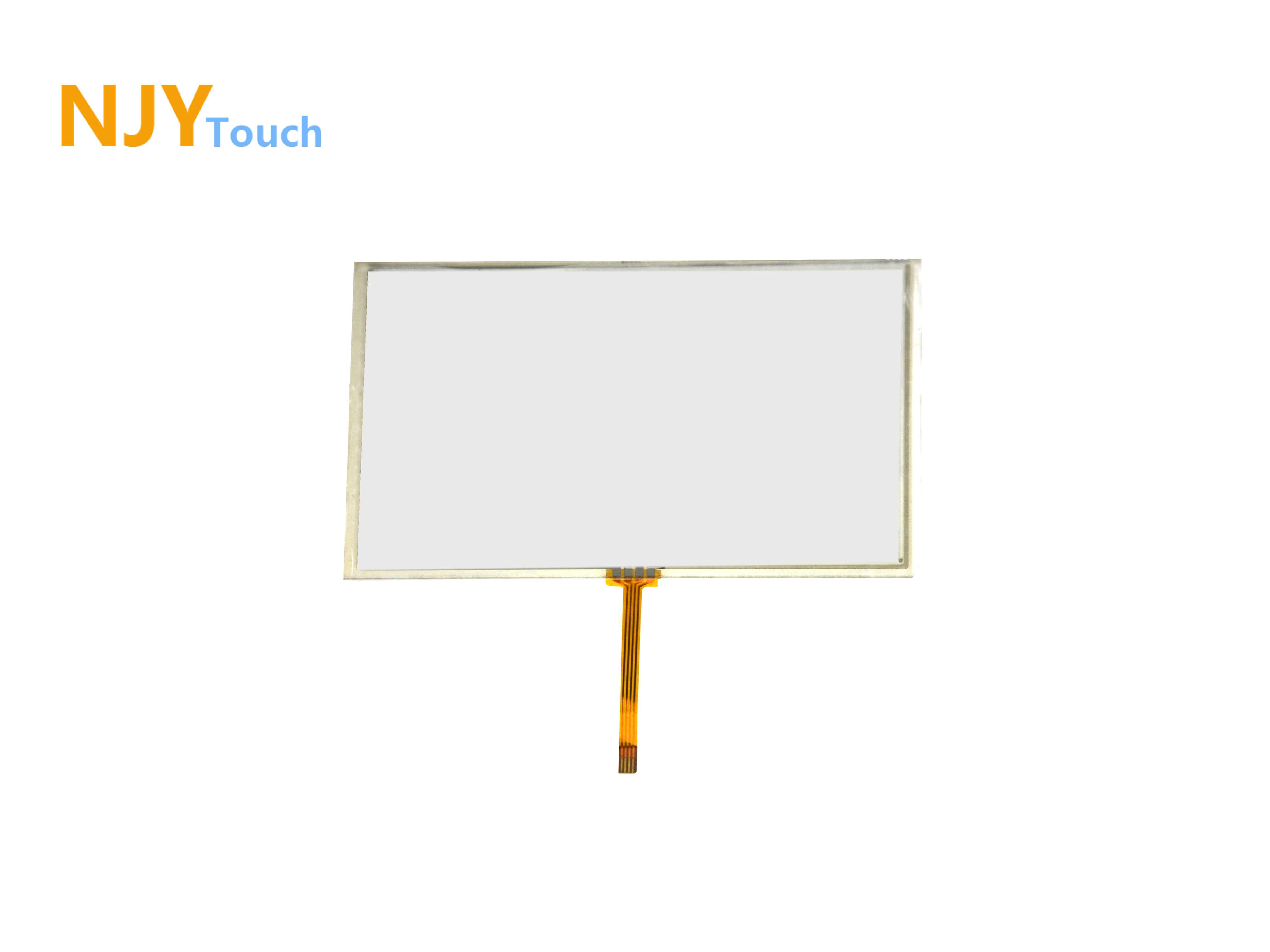 6inch 4 Wire Resistive Touch Panel Glass 152mm x 87mm For GPS LCD Screen
