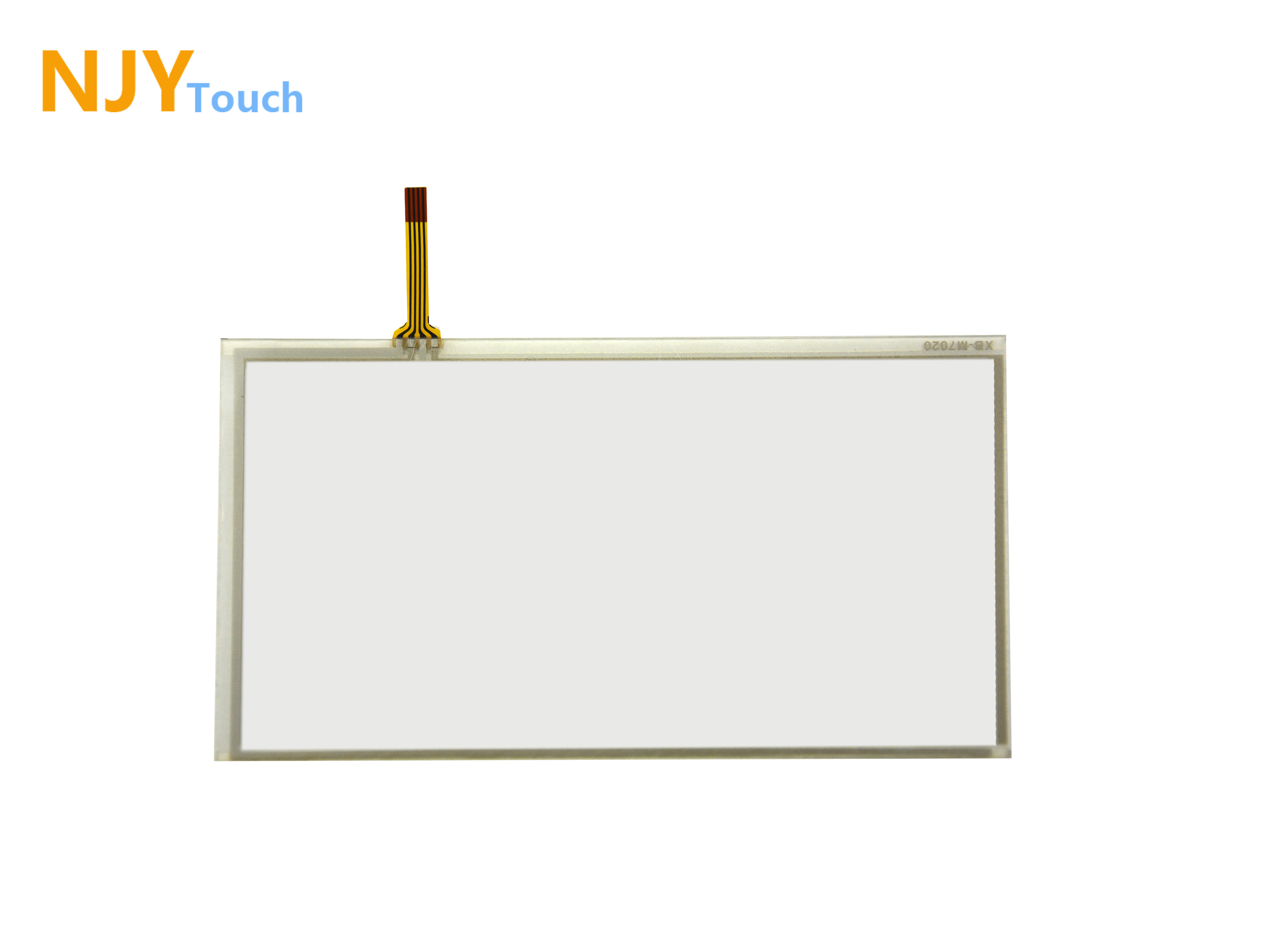 6.8inch 4 Wire Resistive Touch Panel 167mm x 93mm For C070VW03 V0 LCD Screen