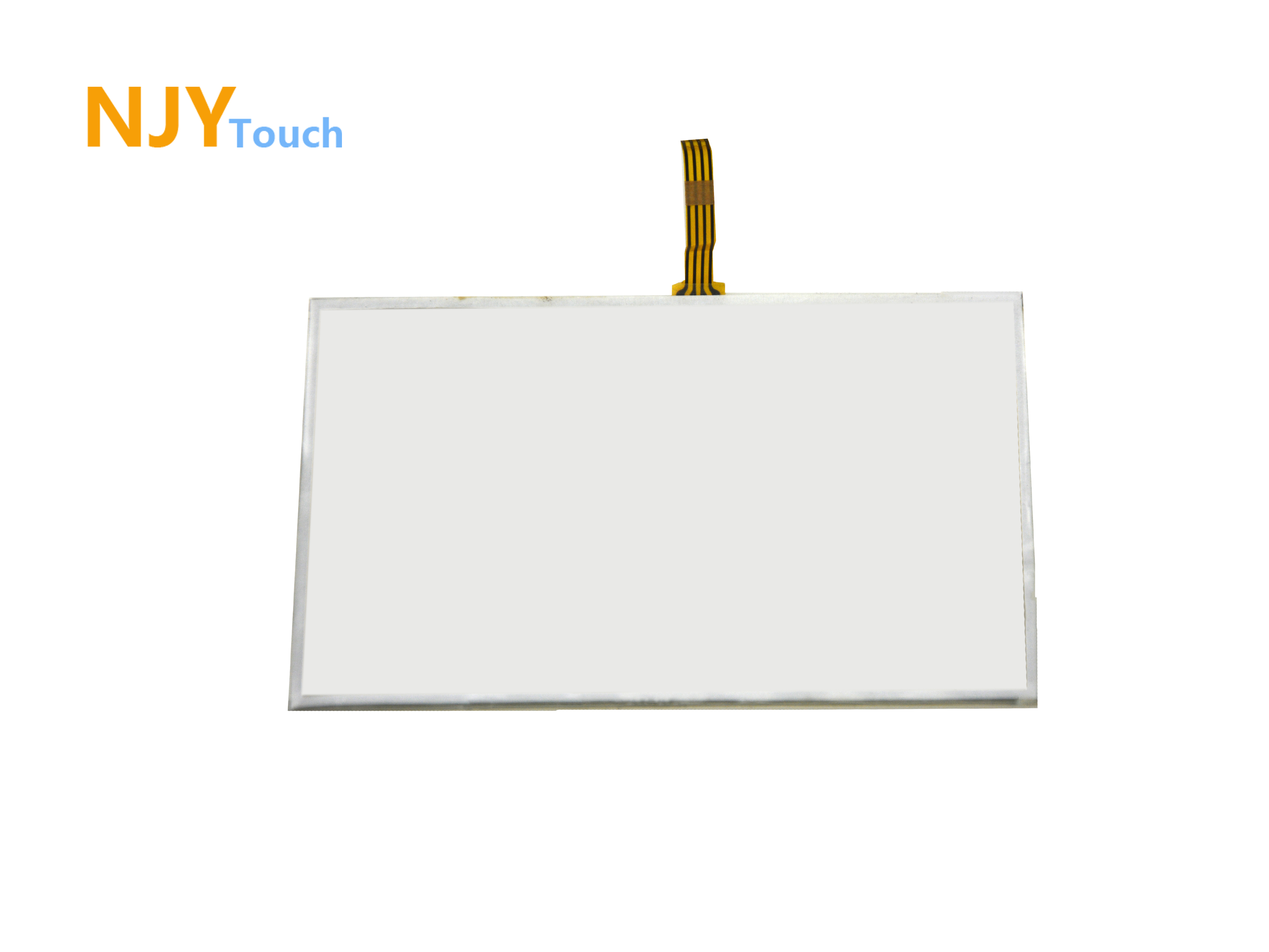 5inch 4 Wire Resistive Touch Panel Glass 117mm x 70mm Handwriting Screen For GPS