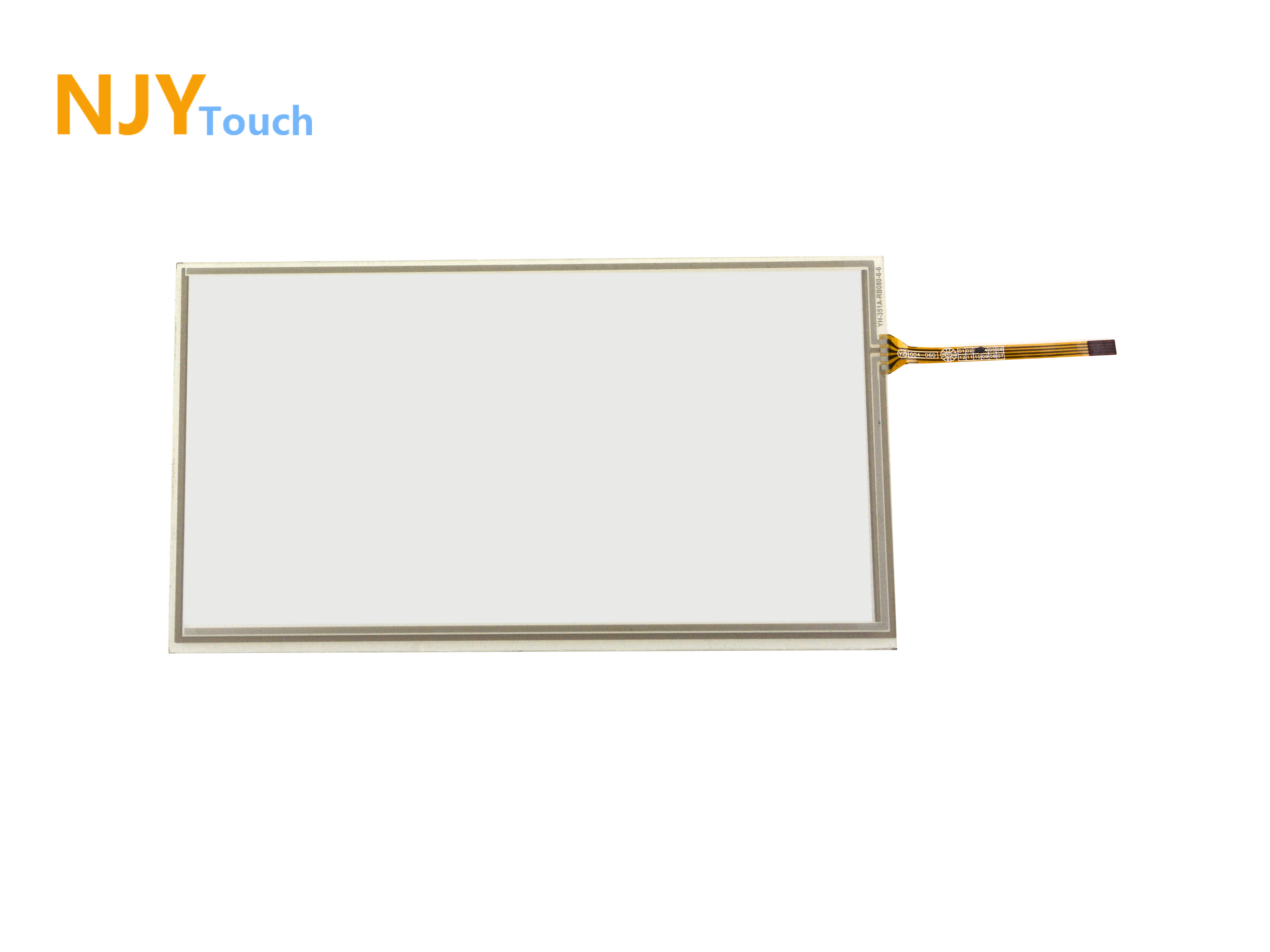 8inch 4 Wire Resistive Touch Panel 192mm x 116mm For 8 inch AT080TN64 LCD Screen