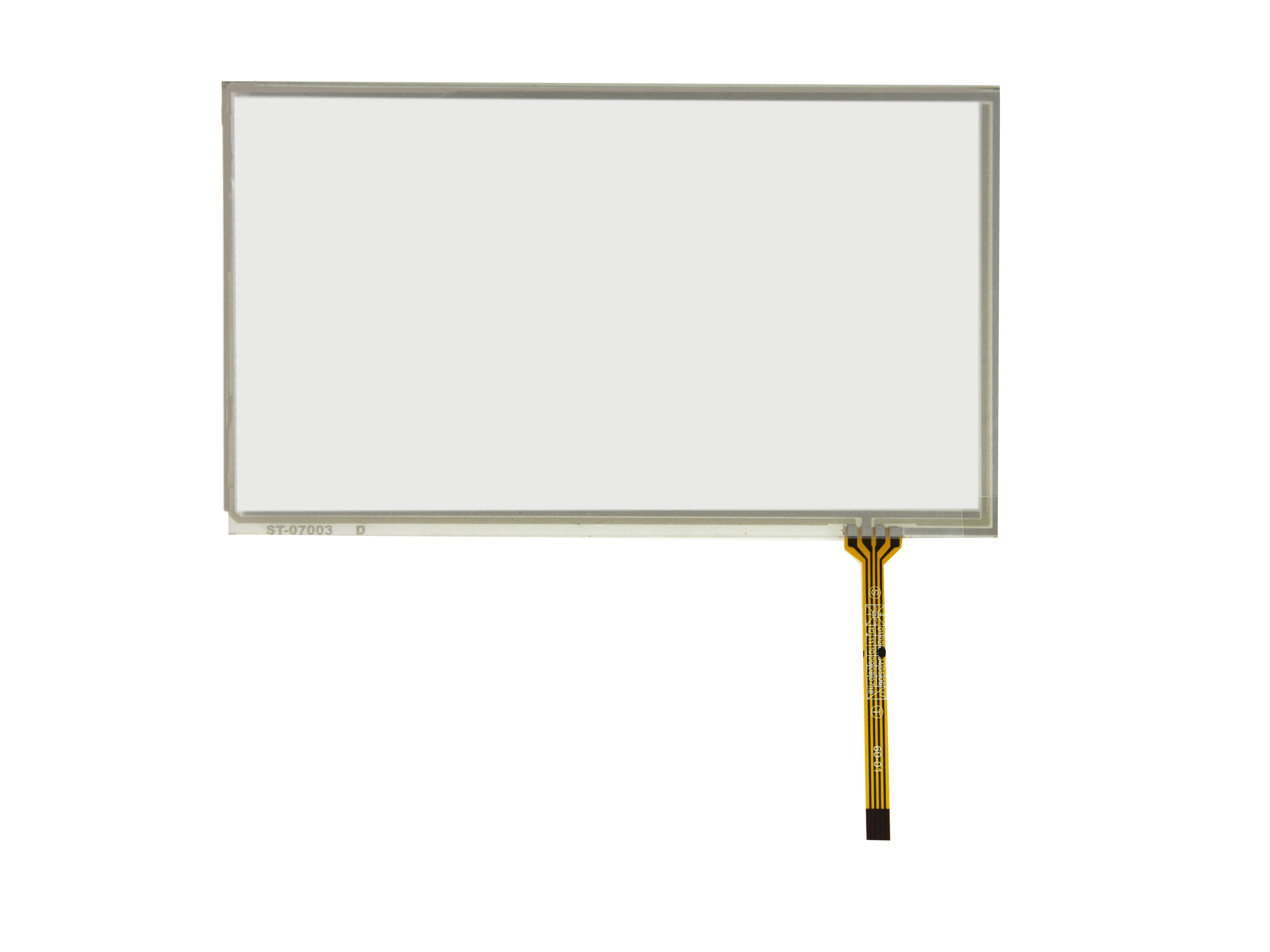 7inch 4 Wire Resistive Touch Panel 164.5 mm x 99.6mm Handwriting Screen GPS