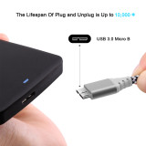 Fasgear USB C to Micro B Cable, USB 3.0