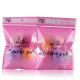 4 Piece/pack Cosmetic Foundation Puff Beauty Makeup Sponges