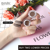 IMAGIC Professional Eyebrow Gel 6 Colors Eyebrow Enhancer Brow Enhancers Tint Makeup Eyebrow Brown With Brow Brush Tools