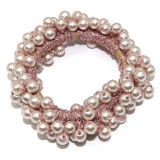 14 Colors Woman Elegant Pearl Hair Ties Beads Girls