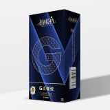 5D Dotted Thread Ribbed G Point Latex Condoms 10PCS