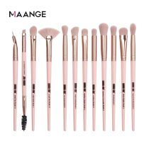 MAANGE Pro  5/12 pcs/lot  Makeup Brushes Set Eye Shadow Blending Eyeliner Eyelash Eyebrow Brushes For Makeup New