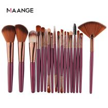MAANGE 6/18Pcs Makeup Brushes Tool Set Cosmetic Powder Eye Shadow Foundation Blush Blending Beauty Make Up Brush Maquiagem