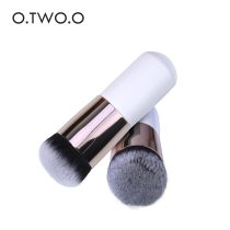 O.TWO.O Make up Brush Foundation Flat Cream Loose Powder Contour Makeup Brushes Professional Cosmetic Brush Tool