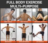 11pcs/set Fitness Resistance Tube Band Stretch Pull Rope