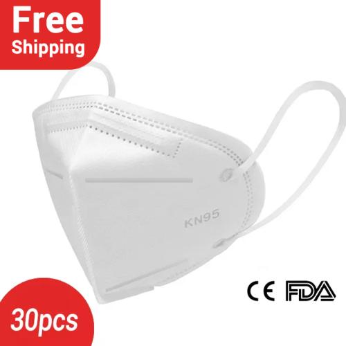 Free Shipping-30/60/90PCS KN95 face mask
