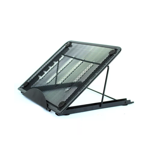 Adjustable Laptop Stand Mesh Ventilated Folding Desktop