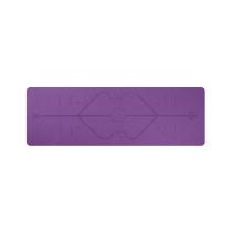 TPE Yoga Mat with Position Line Non Slip Carpet Mat