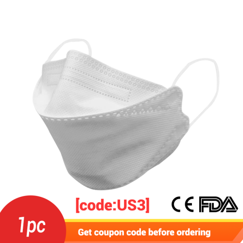 Newcomer Exclusive -1PCS  KF94 mask 3D model medical mask adult non-disposable KF94 mask