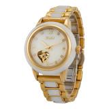 GEZFEEL Jade Couple Watch Automatic mechanical  Business Wristwatch