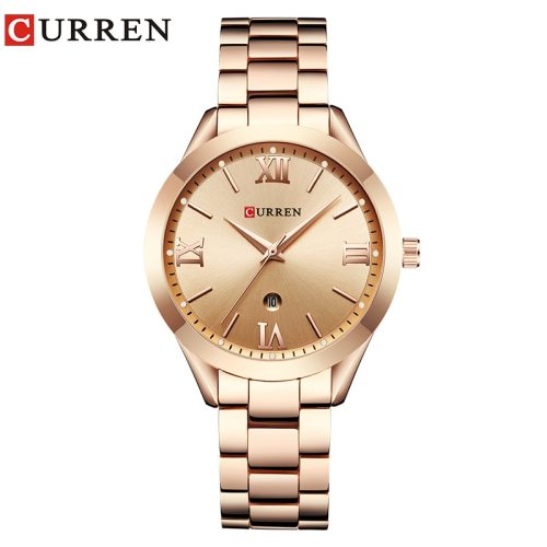 CURREN 9007  Women Watches Creative Steel Bracelet