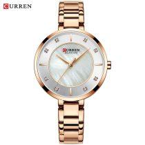 CURREN 9051L Women Watches Luxury Watch Quartz Waterproof
