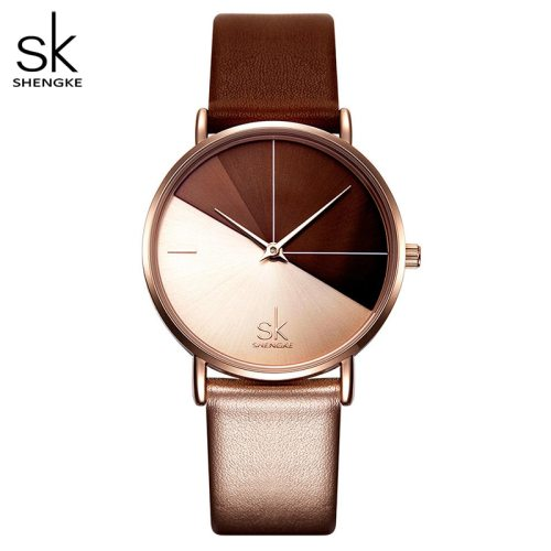 SHENGKE 0095 Women's Watches Fashion Leather  Irregular