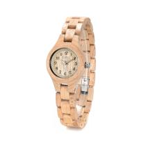 BEWELL Slim Women Bracelet Watch Wood Watch Woman Watches 2019 Brand Luxury Quartz Ladies Watch Digital Relogio Feminino 123A