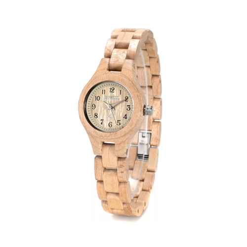 BEWELL Slim Women Bracelet Watch Wood Watch Woman Watches 2019 Brand Luxury Quartz Ladies Watch Digital Relogio Feminino 123A