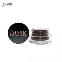 IMAGIC Professional Eyebrow Gel 6 Colors Eyebrow Enhancer Brow Enhancers Tint Makeup Eyebrow Brown With Brow Brush Tools