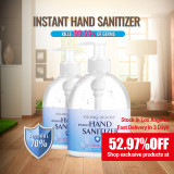 YOUNG VISION | 70% Alcohol | 500ml | Wash Free Disinfection | Hand Sanitizer