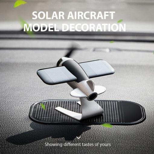 Solar Aircraft Car Decoration