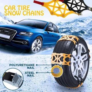 Car Tire Anti-Skid Snow Chains - 6 pcs