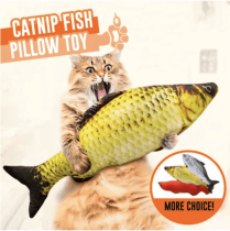 【TODAY ONLY】Cat kicker fish toy - 24h Warehouse Sale