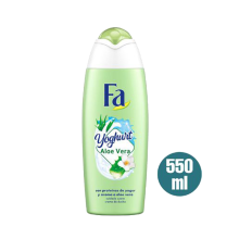 FA Yogurt Aloe Body Wash 550ml Neutro