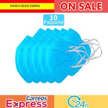 10 pcs mascarilla  de respirador mascara de boca Adaptable contra la contaminación Filtro de mascara transpirable envío rápido