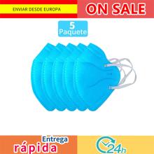 5 pcs mascarilla  de respirador mascara de boca Adaptable contra la contaminación Filtro de mascara transpirable envío rápido
