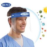 Pantalla Protectora Facial Transparente, Visera Protectora Reutilizable Antivaho