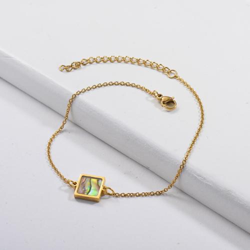 Shell Mother of Pearl Charm Bracelets -SSBTG143-9848
