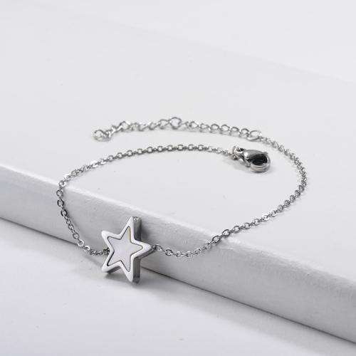 Shell Mother of Pearl Charm Bracelets -SSBTG143-9891
