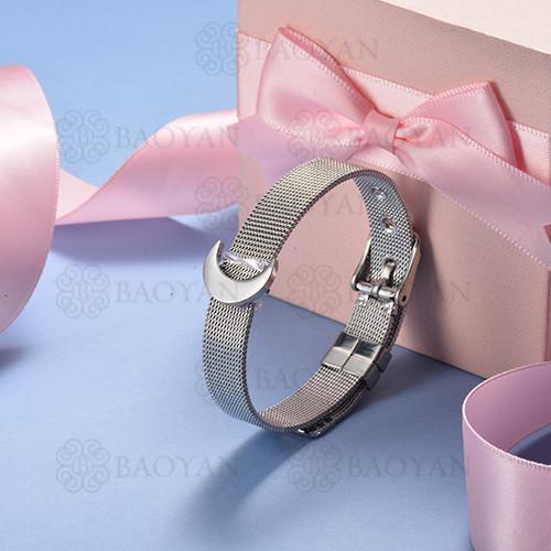 pulsera de charm en acero inoxidable para mujer -SSBTG142-16130-S