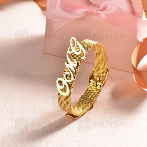 pulsera de charm en acero inoxidable para mujer -SSBTG142-16180-G