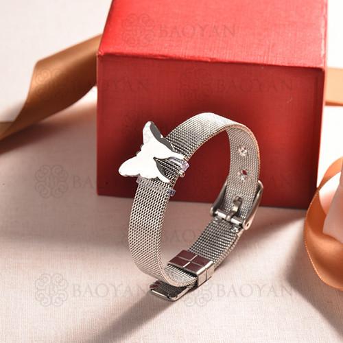 pulsera de charm en acero inoxidable para mujer -SSBTG142-16175-S