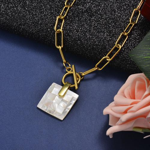 Collar de oro de moda de sillar natural