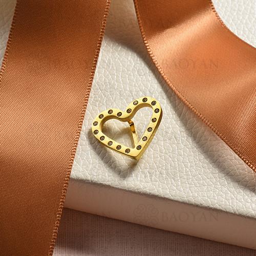 charms de acero inoxidable para pulsera -SSPTG142-16172-G