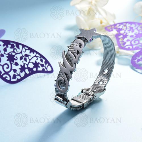 pulsera de charm en acero inoxidable para mujer -SSBTG142-16170-S