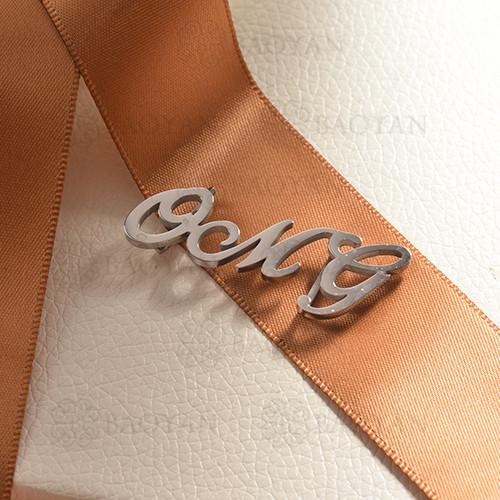 charms de acero inoxidable para pulsera -SSPTG142-16180-S