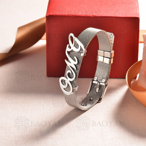 pulsera de charm en acero inoxidable para mujer -SSBTG142-16180-S