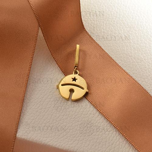 charms de acero inoxidable para pulsera -SSPTG142-16179-G