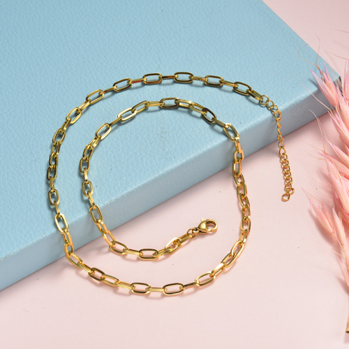 Collar de oro de estilo simple de moda