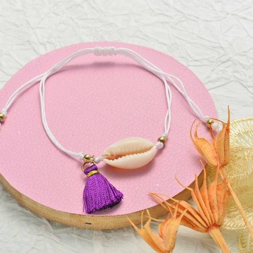 Pulsera de Concha para Mujer -SSBTG142-20070