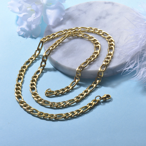 NK 6mm Wide Chain Necklace for Women
