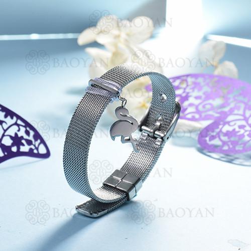 pulsera de charm en acero inoxidable para mujer -SSBTG142-16132-S