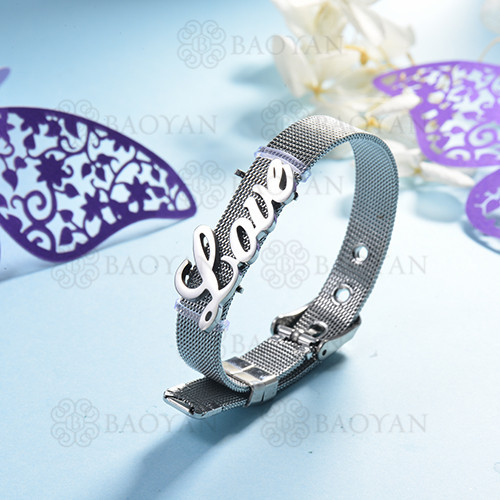 pulsera de charm en acero inoxidable para mujer -SSBTG142-16150-S